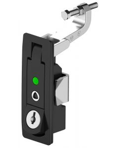 1242 Lever Latch with Access Indicator (Short Arm)