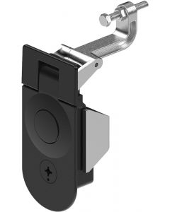1245-4 Tooling Secured Lever Latch in Black