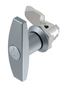 1301 Stainless Steel T Handle Lock with 18mm Grip Height