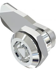 1401 Stainless Steel Quarter Turn Lock with 18mm Grip Height