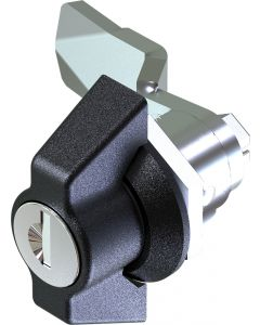 Wing Handle Quarter Turn Lock with 18mm Grip Height range 1402