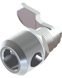 1407 Padlockable Quarter Turn Lock in Stainless Steel