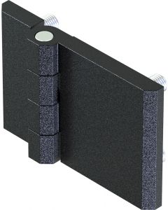 2101-691 Screw On Hinge 60x90mm with threaded M8 Studs