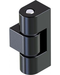 2316 External Hinge in Black or Bright Chrome