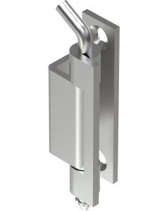 2407 Stainless Steel Concealed Hinge 67mm with M6 Holes