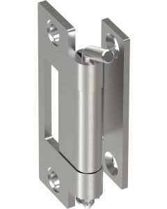 2407 Stainless Steel Screw On Concealed Hinge 67mm