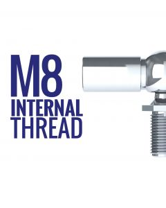 Ball Joint End Fittings with 8mm Thread full range