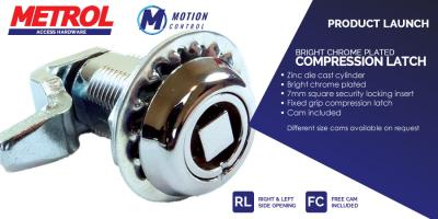 New product Bright Chrome Compression Latch