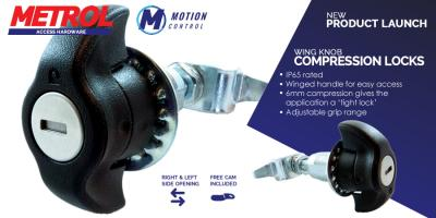 New product - Wing Knob Compression Latches