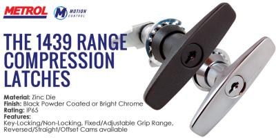 The 1439 family of Compression latches from Metrol