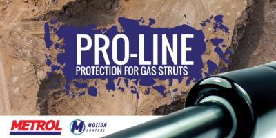 Pro-Line protection for gas struts