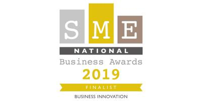 Finalist for 2019 SME Business Innovation award