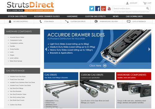 struts direct web shop
