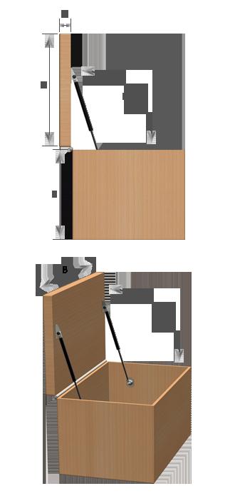 design service horizontal detailed drawing