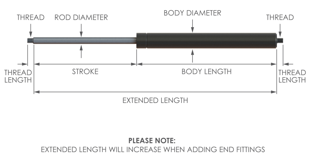 fixed force strut